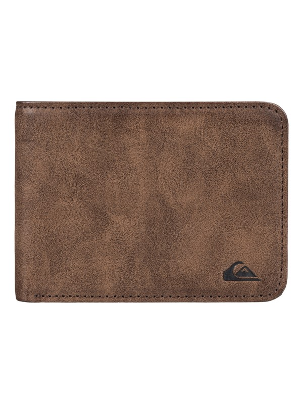 0 Slim Vintage Wallet Brown EQYAA03424 Quiksilver