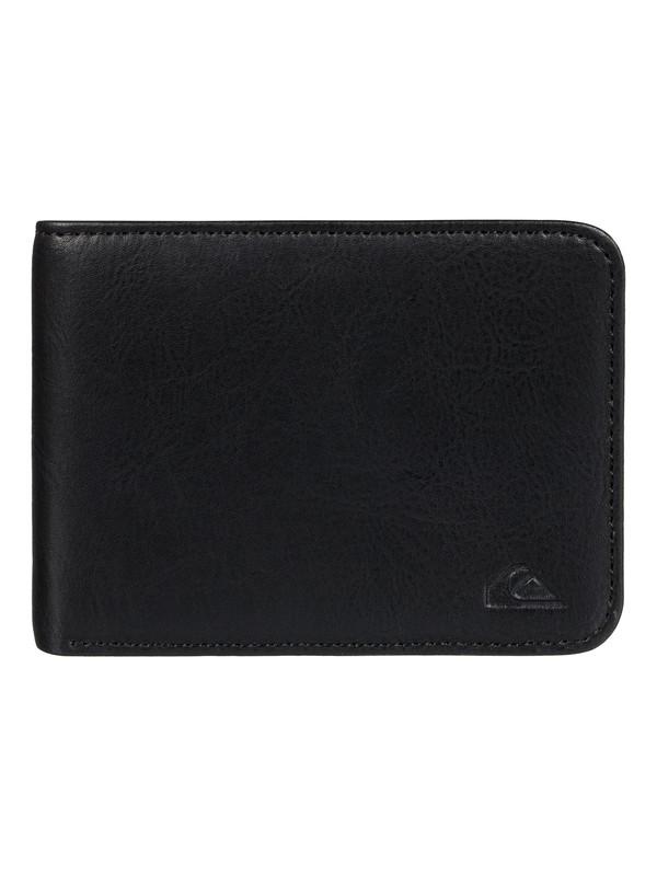 0 Slim Vintage Wallet Black EQYAA03424 Quiksilver