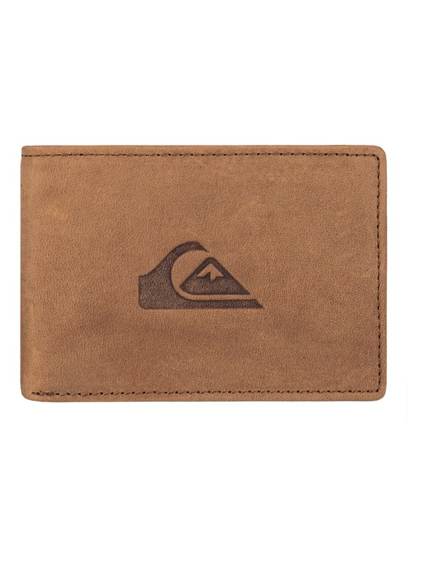 0 Foldable - Leather Card Holder Wallet  EQYAA03446 Quiksilver