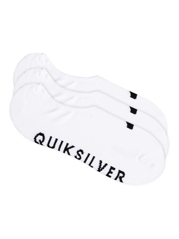 0 No Show - Pack de 3 — Chaussettes invisibles  EQYAA03484 Quiksilver