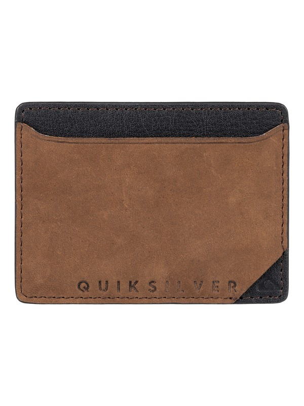 0 Modonut Leather Card Holder  EQYAA03492 Quiksilver