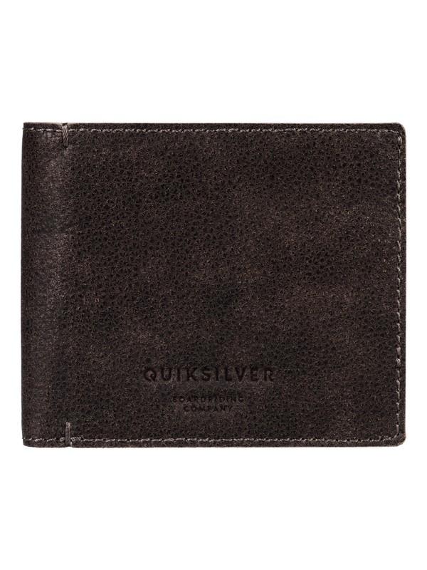 0 Mack Plus Leather Wallet  EQYAA03515 Quiksilver