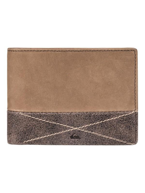 0 New Classic Plus - Portefeuille en cuir pour Homme  EQYAA03516 Quiksilver
