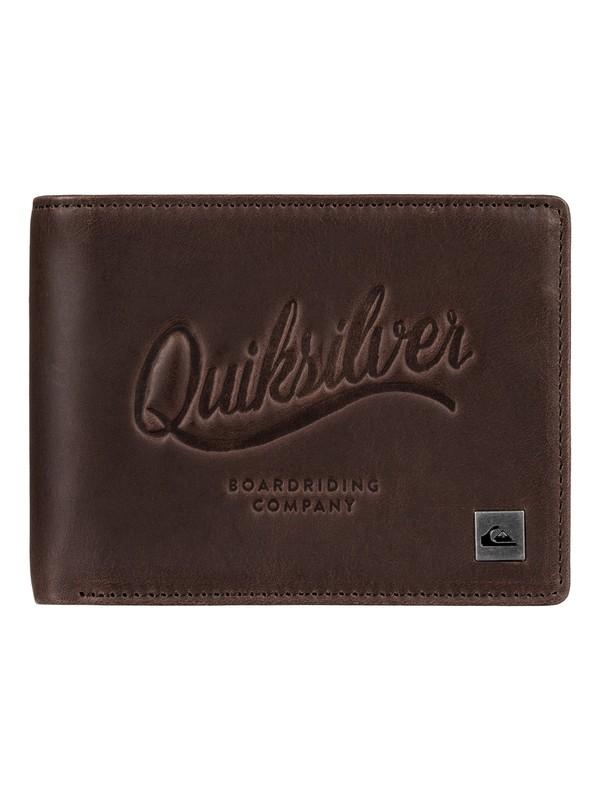 0 Mack - Portefeuille en cuir pour Homme  EQYAA03522 Quiksilver