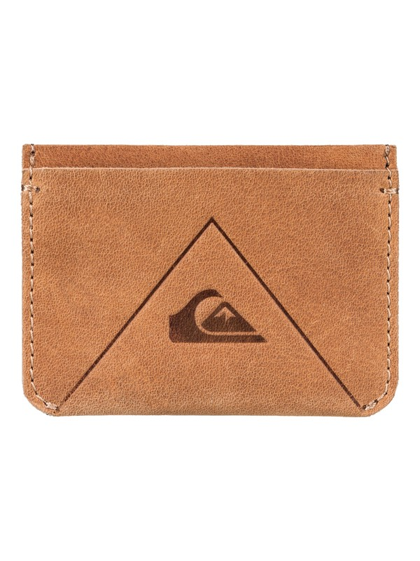 0 Quiksilver Leather Card Holder  EQYAA03526 Quiksilver