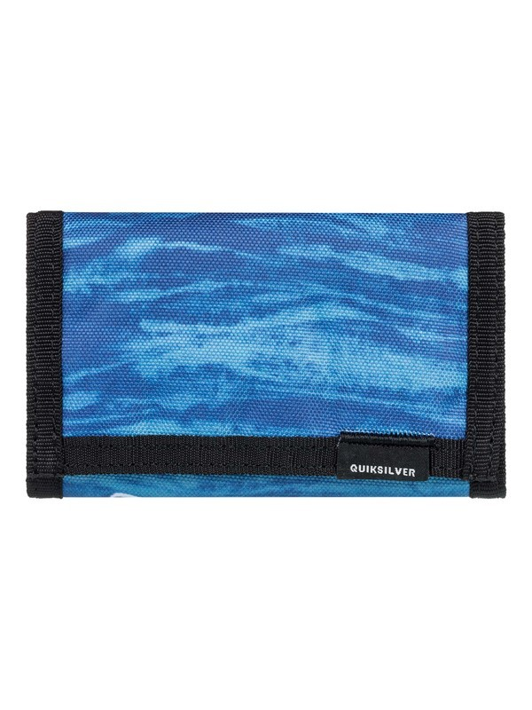 0 The Everydaily Tri-Fold Wallet Blue EQYAA03530 Quiksilver