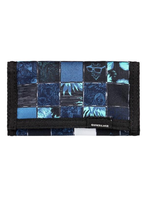0 The Everydaily - Cartera de pliegue triple para Hombre Azul EQYAA03530 Quiksilver