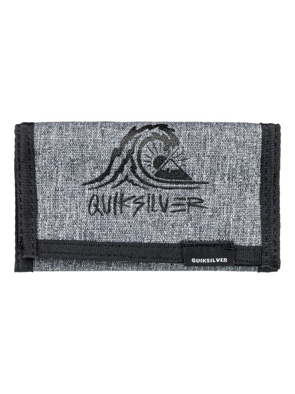 0 The Everydaily - Tri-Fold Wallet Black EQYAA03530 Quiksilver