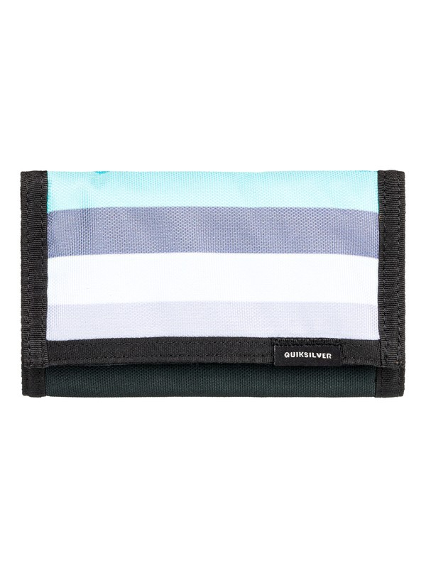 0 The Everydaily Tri-Fold Wallet Black EQYAA03530 Quiksilver