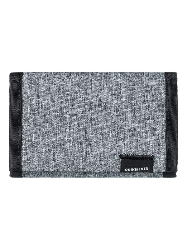 0 The Everydaily - Tri-Fold Wallet for Men Gray EQYAA03530 Quiksilver