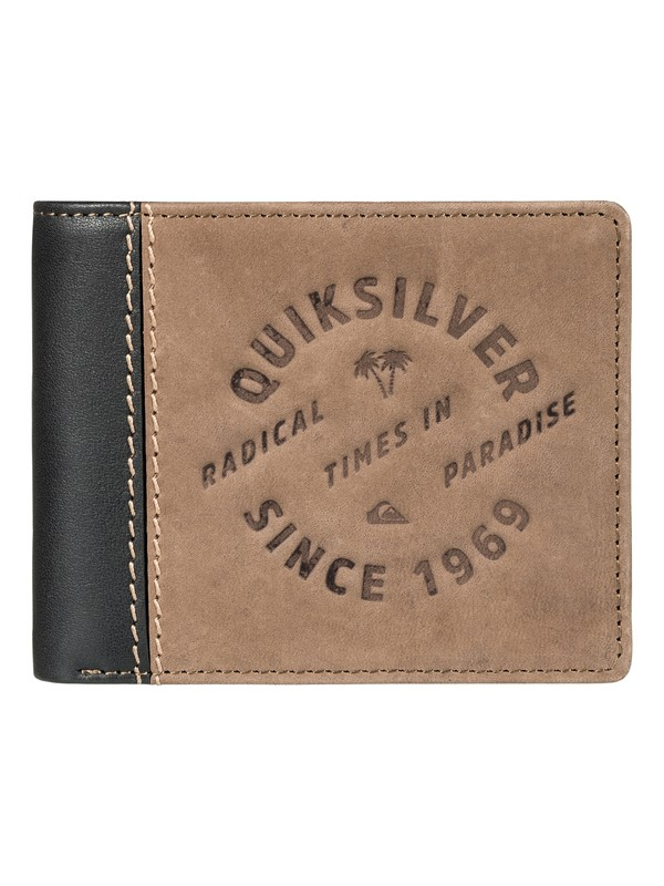 0 Royallet Leather Wallet  EQYAA03542 Quiksilver
