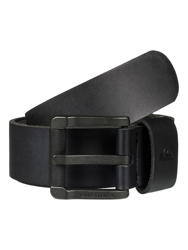 0 The Everydaily Leather Belt Black EQYAA03546 Quiksilver