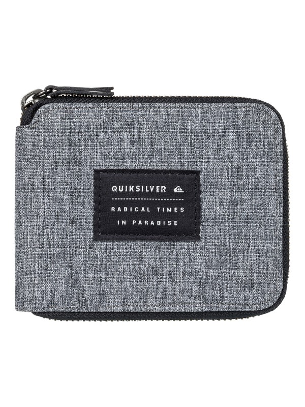 0 Everyday Full Wallet Grey EQYAA03555 Quiksilver