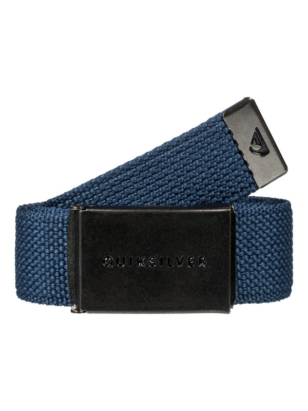 0 Principle Webbing Belt Blue EQYAA03559 Quiksilver