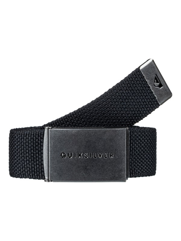 0 Principle Webbing Belt Black EQYAA03559 Quiksilver