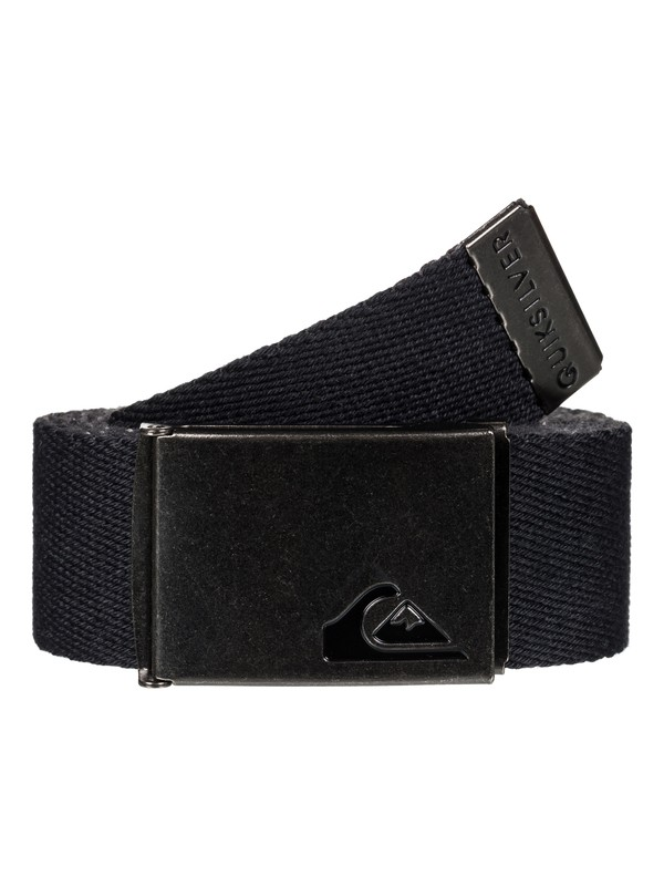 0 The Jam Reversible Webbing Belt Black EQYAA03560 Quiksilver