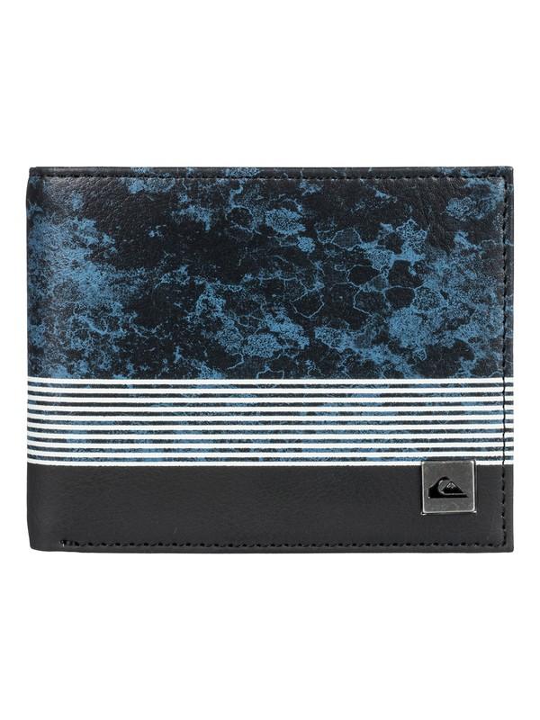 0 Hombres Cartera Doble Pliegue Freshness Azul EQYAA03561 Quiksilver