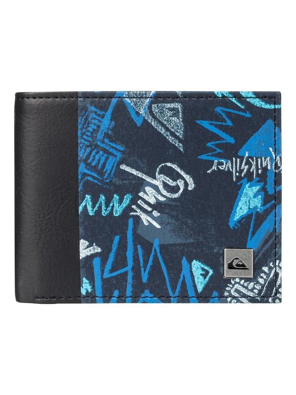 0 Freshness - Bi-Fold Wallet for Men Blue EQYAA03561 Quiksilver