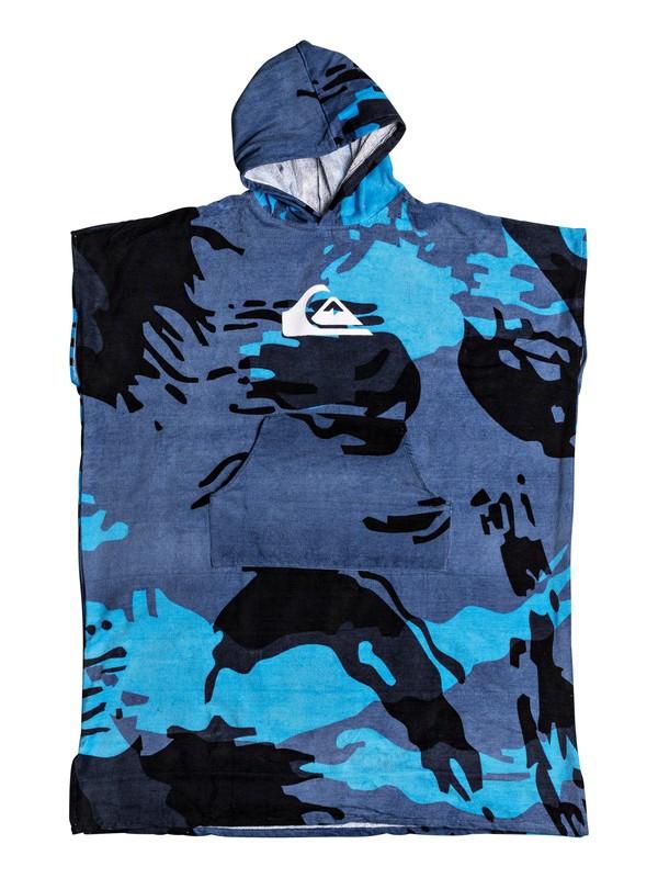0 Quiksilver - Toalla con Capucha Azul EQYAA03595 Quiksilver