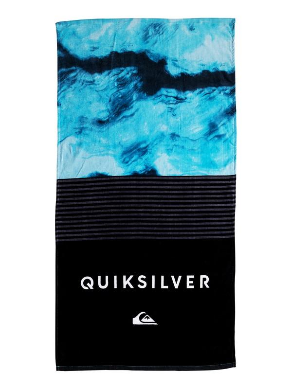 0 Men's Freshness Beach Towel Black EQYAA03602 Quiksilver