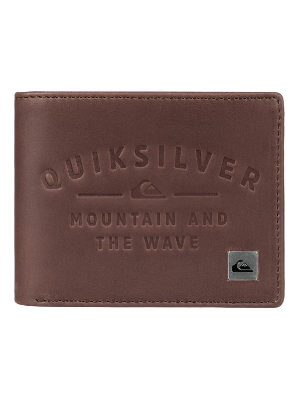 0 Mack IV Bi-Fold Wallet Brown EQYAA03632 Quiksilver