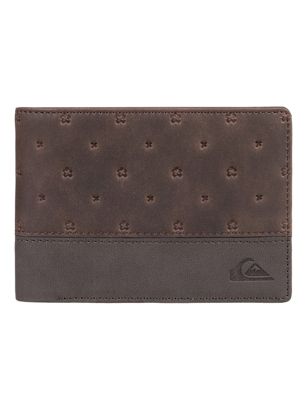 0 New Classical III - Bi-Fold Wallet Brown EQYAA03638 Quiksilver