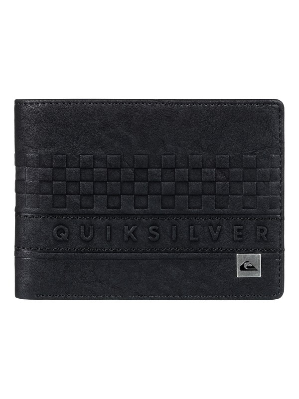 0 Everyday Stripe II - Bi-Fold Wallet for Men Black EQYAA03640 Quiksilver