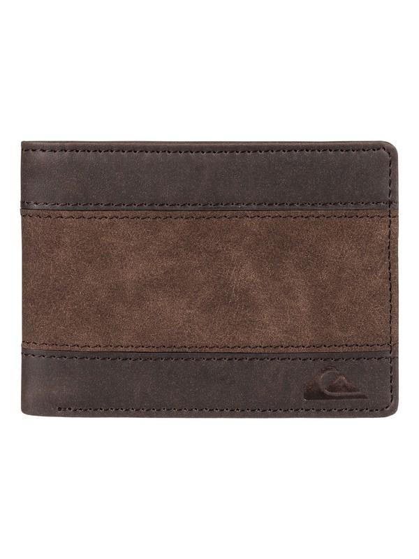 0 Supply Slim Bi-Fold Wallet  EQYAA03642 Quiksilver