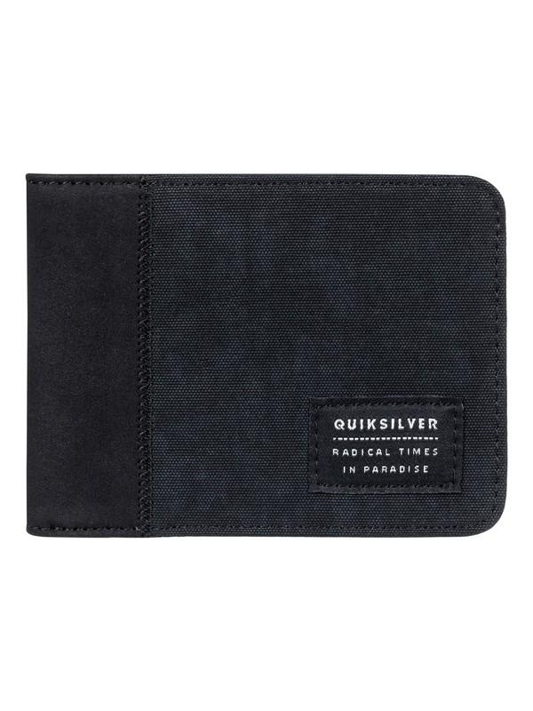 0 Vintage Plus - zweifach faltbare Brieftasche für Männer Schwarz EQYAA03644 Quiksilver