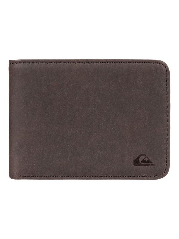 0 Vintage Bi-Fold Wallet Brown EQYAA03649 Quiksilver