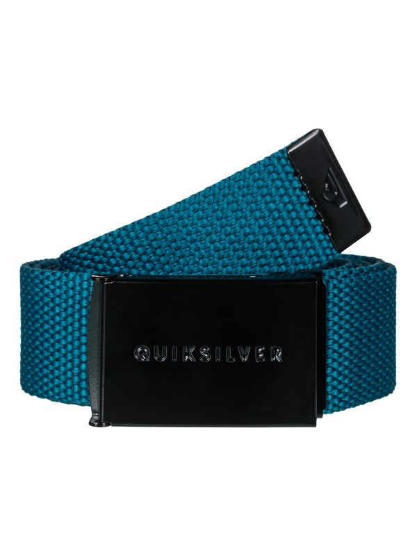 0 Principle - Webbing Belt for Men Blue EQYAA03662 Quiksilver