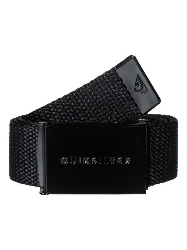 0 Principle - Webbing Belt for Men Black EQYAA03662 Quiksilver
