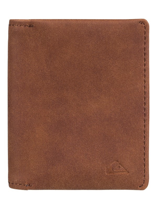 0 Quiksilver Bi-Fold Wallet Brown EQYAA03673 Quiksilver