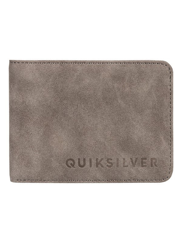 0 Slim Vintage Bi-Fold Wallet Black EQYAA03686 Quiksilver