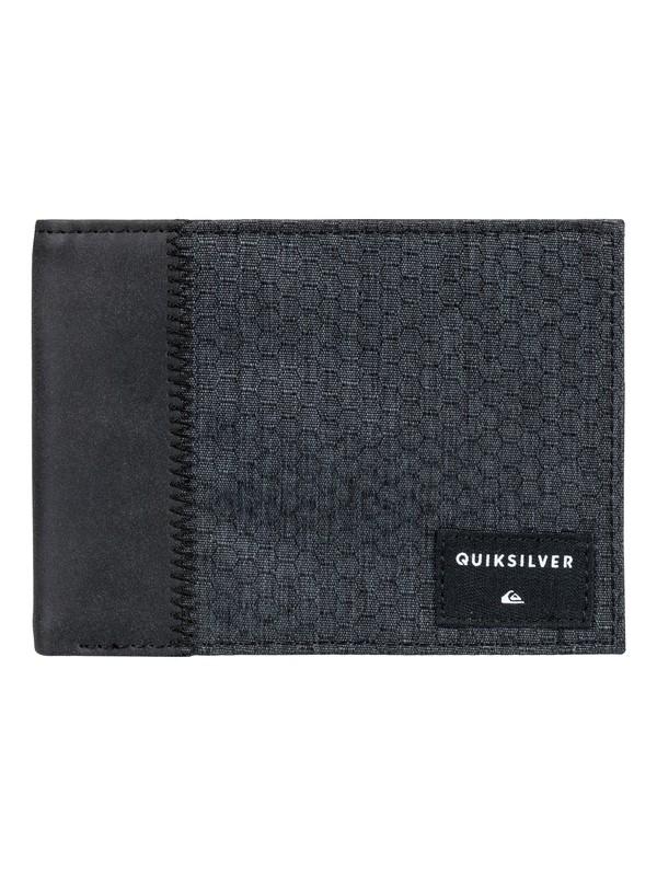 0 Men's Freshness Plus 4 Bi-Fold Wallet  EQYAA03688 Quiksilver