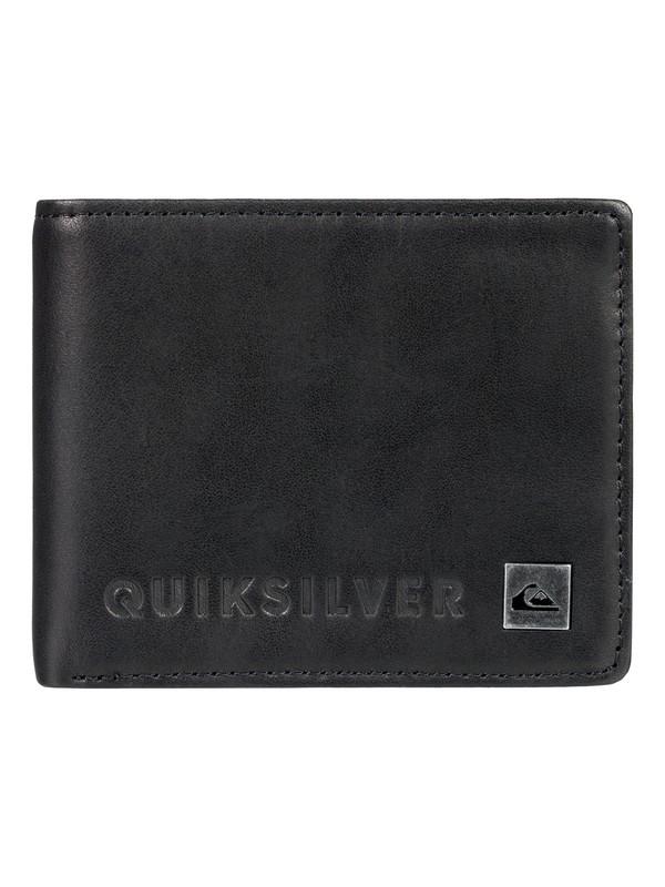 0 Men's Mack VI Bi-Fold Wallet Black EQYAA03692 Quiksilver