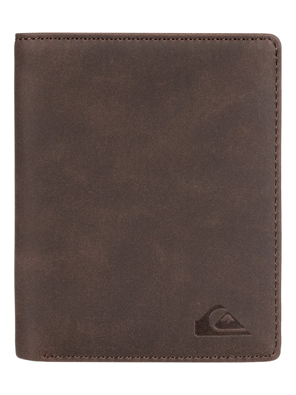 0 Cartera Doble Pliegue Trilogy Marrón EQYAA03697 Quiksilver