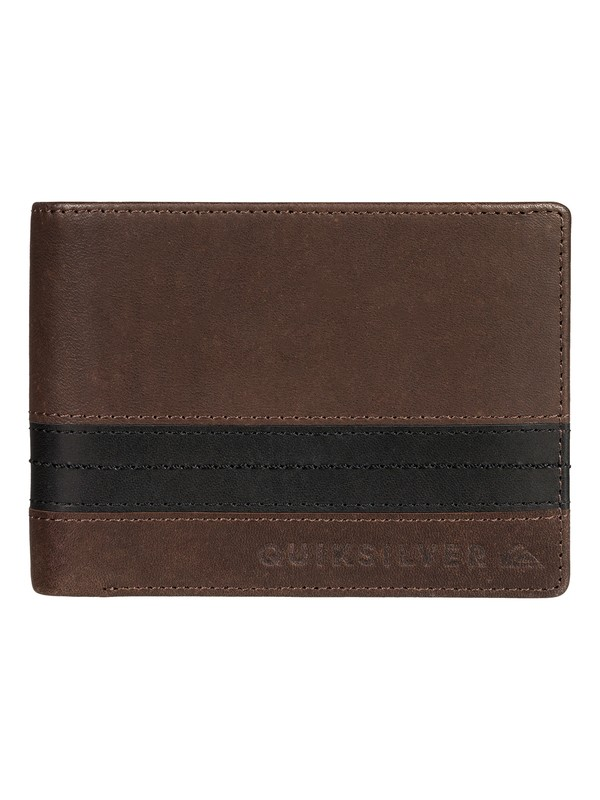 0 Men's New Classical Plus Bi-Fold Wallet  EQYAA03702 Quiksilver