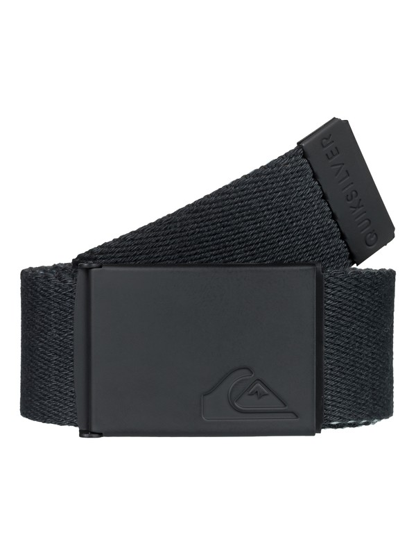 0 The Jam Reversible Webbing Belt Black EQYAA03704 Quiksilver