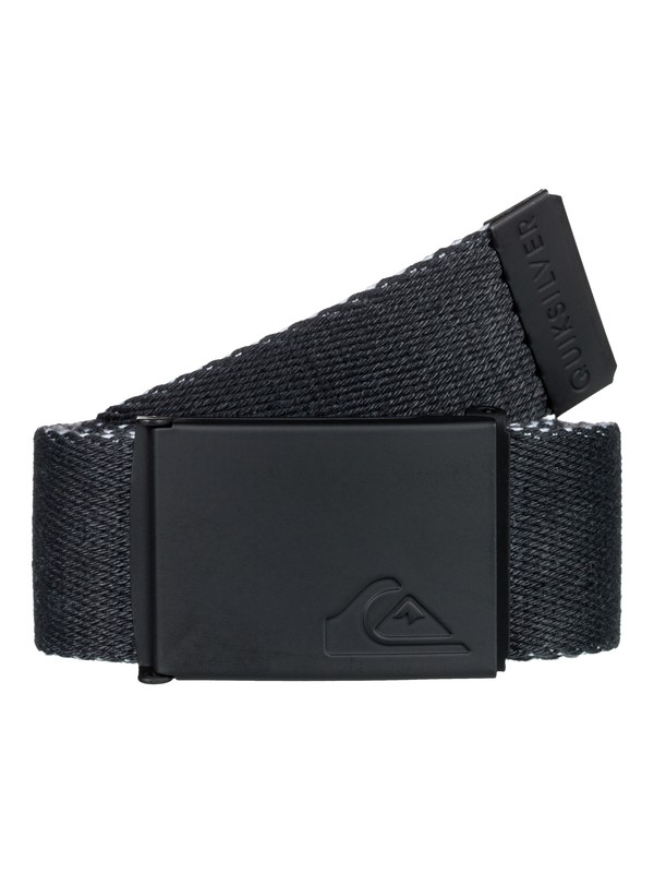 0 The Jam - Reversible Webbing Belt Black EQYAA03704 Quiksilver