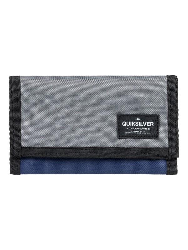 0 Everywear - Tri-Fold Wallet for Men Black EQYAA03709 Quiksilver
