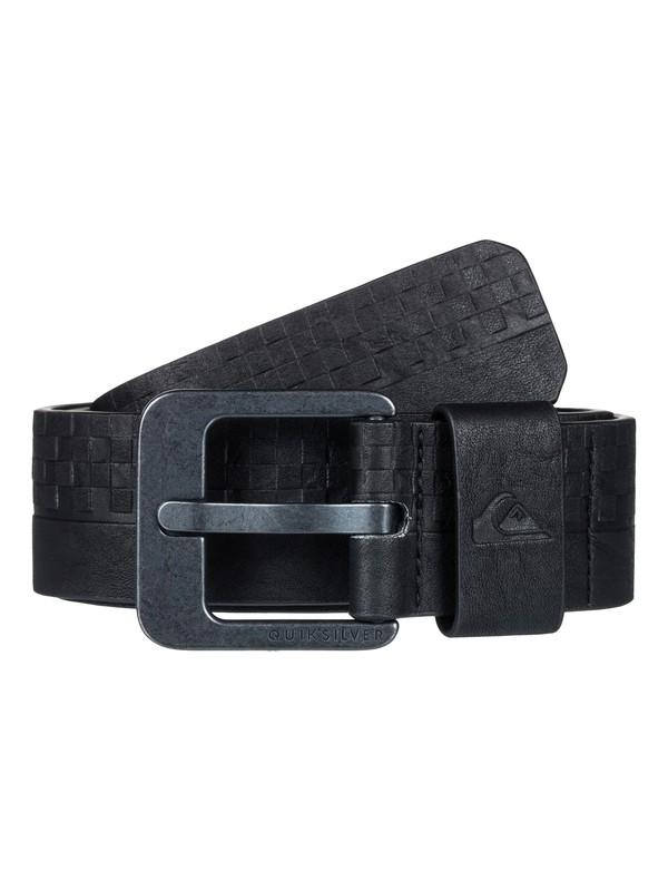 0 Chapel Road - Fake Leather Belt Black EQYAA03711 Quiksilver