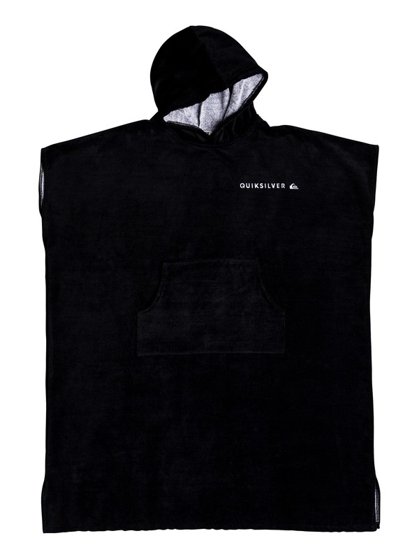 0 Hoody Hooded Towel Black EQYAA03712 Quiksilver