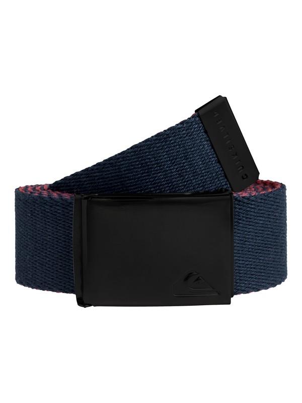 0 The Jam Reversible Webbing Belt Blue EQYAA03791 Quiksilver