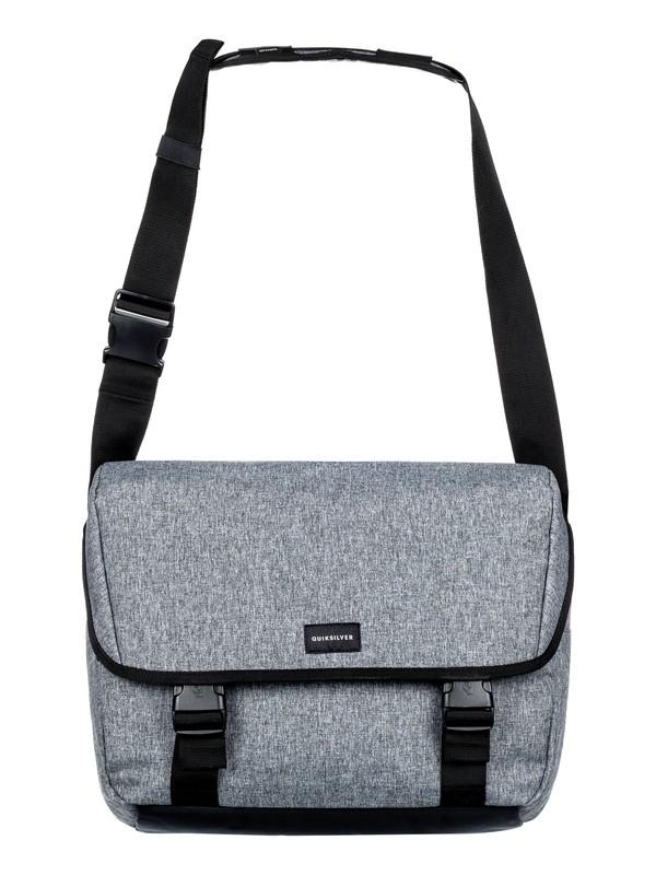 0 Carrier - Messenger Bag Grey EQYBA03065 Quiksilver