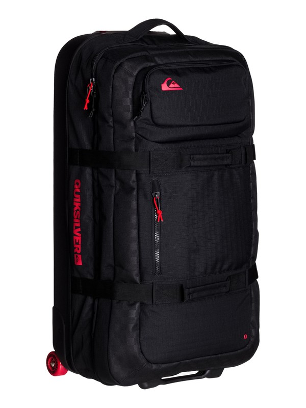 0 The Reach Cordura Suitcase  EQYBL03020 Quiksilver