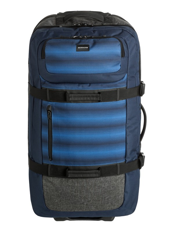 0 Reach 100L Large Wheeled Suitcase  EQYBL03099 Quiksilver
