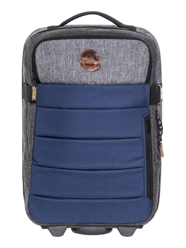 0 New Horizon 32L Wheeled Cabin Luggage Blue EQYBL03140 Quiksilver