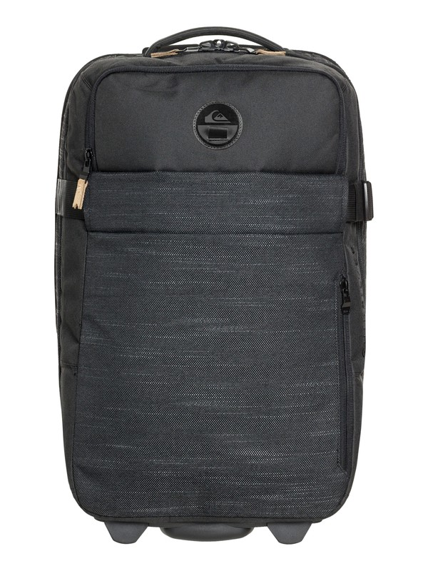 0 New Horizon 32L Wheeled Cabin Luggage Black EQYBL03140 Quiksilver