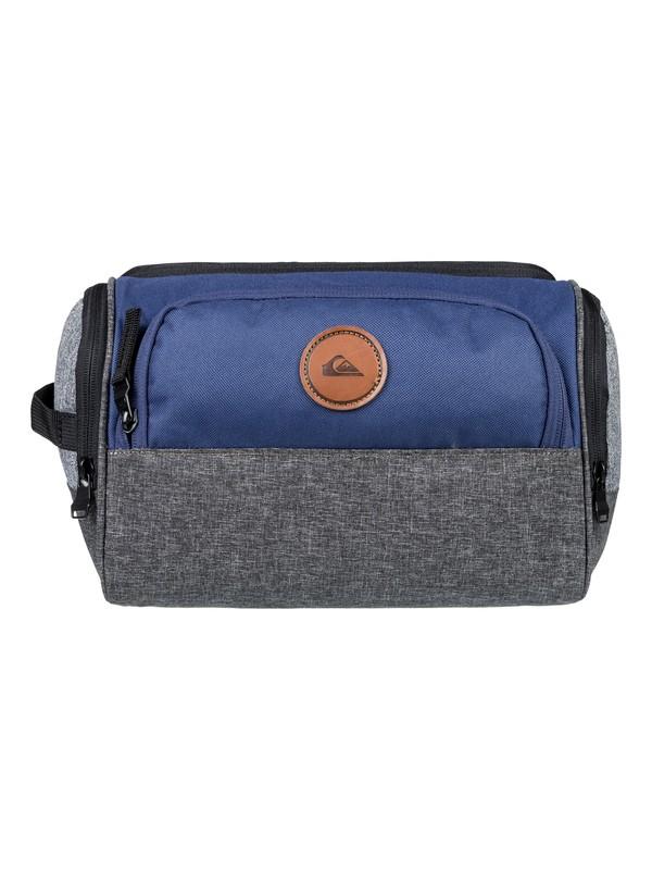 0 Men's Capsule Toiletry Bag Blue EQYBL03150 Quiksilver